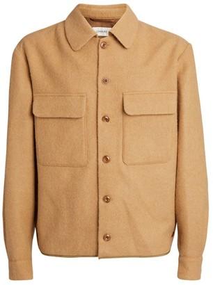 Lemaire Alpaca-Virgin Wool Boxy Overshirt
