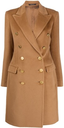 Tagliatore Double-Breasted Wool Coat