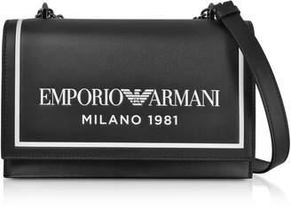 Emporio Armani Two-tone Shoulder Bag