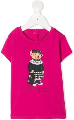 Ralph Lauren Kids Polo Bear short sleeved T-shirt