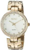 XOXO Women's Quartz Metal and Alloy Casual Watch, Color:Gold-Toned (Model: xo260)
