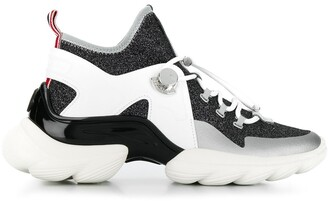Moncler Panelled High-Top Sneakers