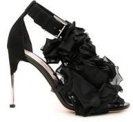 Alexander McQueen Floral Embellished Sandals