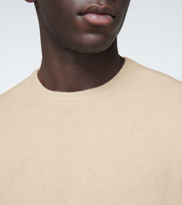Thumbnail for your product : Loro Piana Baby cashmere crewneck sweater