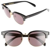 Wildfox Couture Women's Clubhouse 50Mm Semi-Rimless Sunglasses - Black