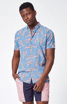 Barney Cools Lobster Short Sleeve Button Up Shirt