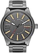 Diesel Men's DZ1762 Rasp Gunmetal Watch