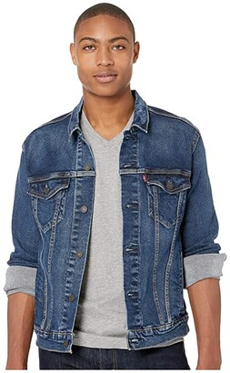 Levi's(r) Mens The Trucker Jacket (Colusa/Stretch) Men's Coat