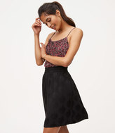 LOFT Petite Medallion Jacquard Pull On Skirt