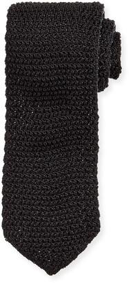 Tom Ford Men's Solid Silk Knit Tie