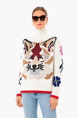 Artemis Fox Mock Neck Sweater