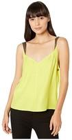 Rag & Bone Colette Cami (Lime Green) Women's Clothing