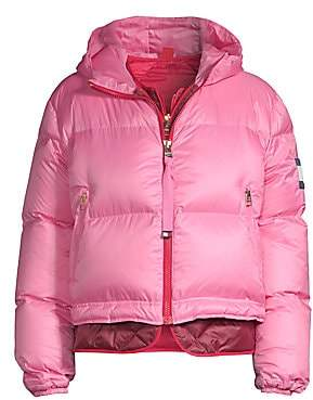 Tommy Hilfiger Tommy Women's Multicolor Double Down Puffer Coat