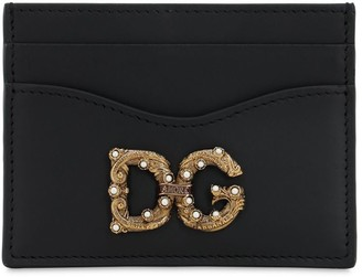 Dolce & Gabbana AMORE LEATHER CARD HOLDER