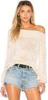 Lovers + Friends x REVOLVE Fun Seeker Sweater in Cream. - size M (also in S,XS)