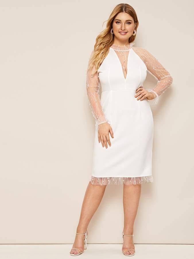 c4eea25ca4 Sheer Mesh Dresses - ShopStyle