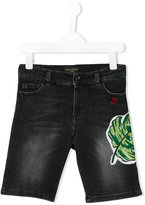 Dolce & Gabbana denim shorts - kids - Cotton/Calf Leather/Spandex/Elastane/Zamak - 4 yrs