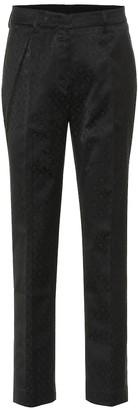 Etro Cotton-blend jacquard pants