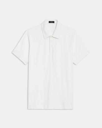 Theory Polo Shirt in Slub Cotton