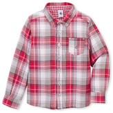 Petit Bateau Boys checked shirt