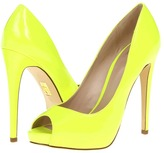 Truth or Dare By Madonna - Jabulania (Neon Yellow/Glass Patent PU) - Footwear