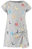 Little Marc Jacobs Grey Jersey Letter Print Jersey