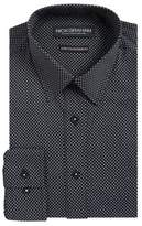 Nick Graham Modern-Stretch Fit Dot-Print Button-Down Shirt