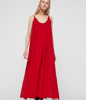 AllSaints Romey Long Dress