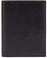 Thom Browne - Pebbled Leather Passport Holder - Mens - Black