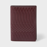 Paul Smith No.9 - Men's Damson Leather Credit Card Wallet