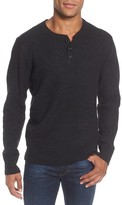 Schott NYC Men's Thermal Henley