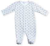 Kissy Kissy First Down Football Print Footie Pajamas, Size 0-9 Months