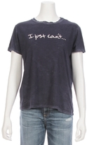 TYLER JACOBS For FEEL THE PIECE I Just Can't Tee