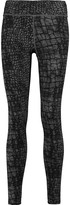 Yummie by Heather Thomson Hannah printed cotton-blend jersey leggings