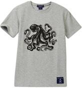 Toobydoo Black Octopus Tee (Toddler, Little Boys, & Big Boys)