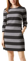 Hobbs London Gracie Stripe Tunic Dress