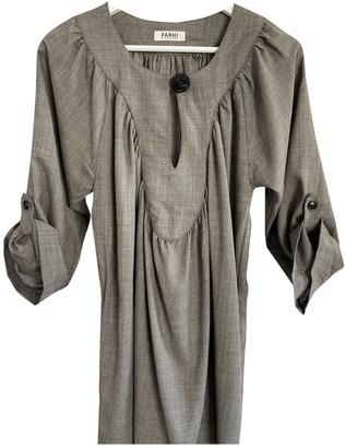 Nicole Farhi Khaki Wool Dress for Women