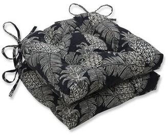 Bay Isle Home Emeline Batik Reversible Pad Indoor/Outdoor Rocking Chair Cushion Fabric: Noche