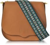 Rebecca Minkoff Almond Leather Sunday Saddle Bag