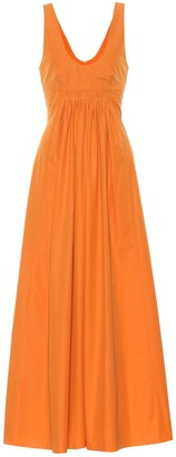 Three Graces London Laurette cotton maxi dress