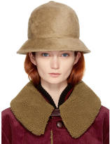 Marc Jacobs Beige Rabbit Fur Cloche
