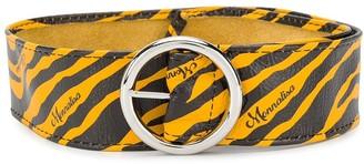 MonnaLisa TEEN zebra print wide belt