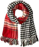 Steve Madden Women's DOUBLE PLAY-D BLANKET WRAP Accessory,