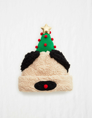 aerie Holiday Puppy Ears Beanie