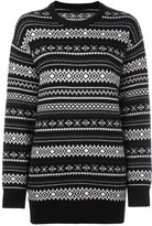 Alexander Wang perforated Nordic knit jumper - women - Viscose/Cashmere/Wool - S