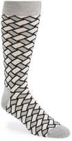 Happy Socks Men's Weave Print Socks