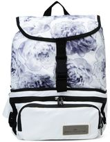 adidas by Stella McCartney Stella McCartney run convertible floral print backpack