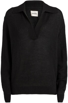 KHAITE Cashmere Sweater with Collar