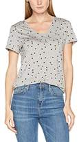 Gant Women's O. Dotted Fluid V-Neck T-Shirt