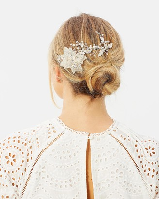 Ivory Knot Diane Hair Comb